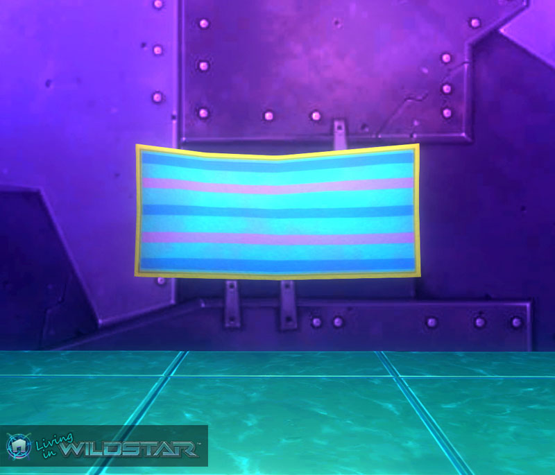 Wildstar Housing - Beach Towel (Pastel)