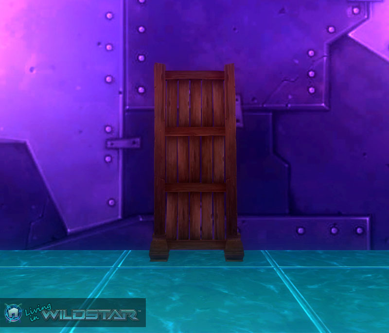 Wildstar Housing - Wall Divider (Dark)