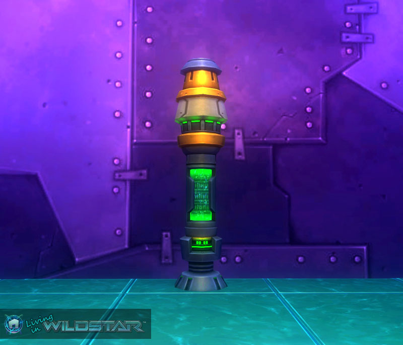 Wildstar Housing - Eldan Fuel Rod