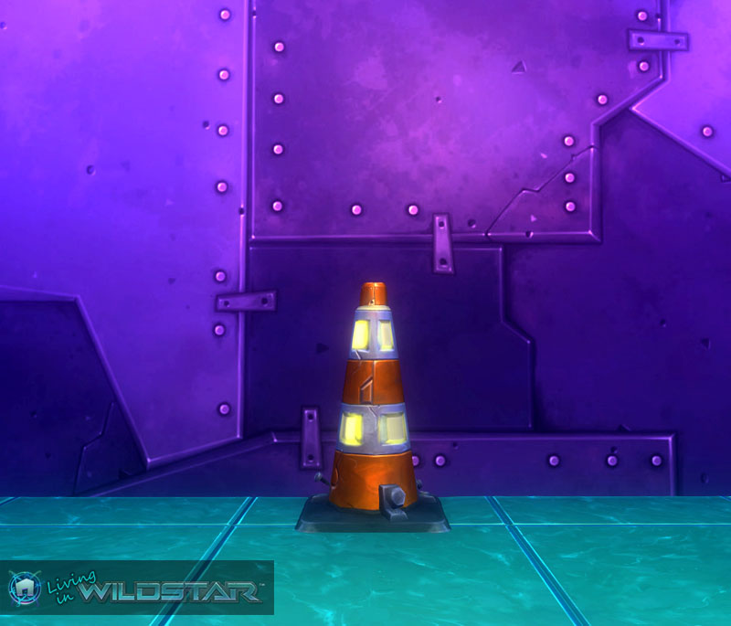 Wildstar Housing - Hazard Cone