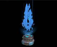 Wildstar Housing - Eldan Relic (Holographic)