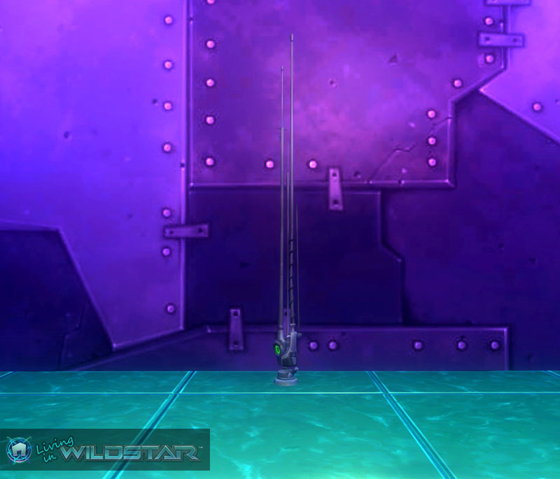 Wildstar Housing - Huge Antenna (Eldan)