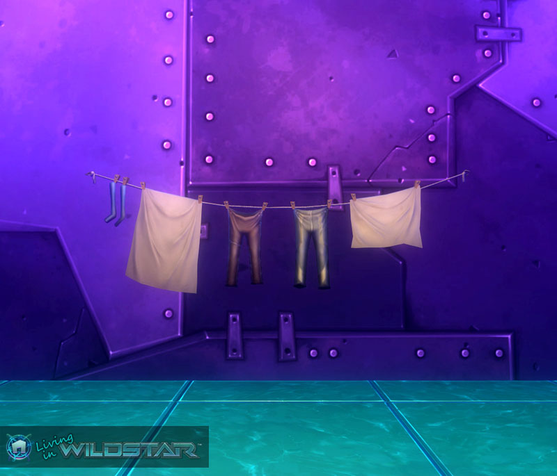 Wildstar Housing - Laundry Line (Casual)