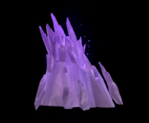 Wildstar Housing - Loftite Formation (Purple)