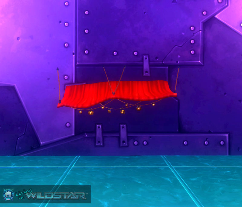Wildstar Housing - Red Shop Awning