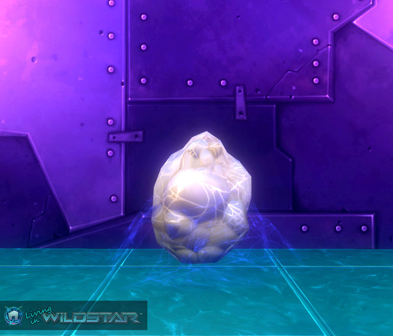 Wildstar Housing - Spider Egg (White)