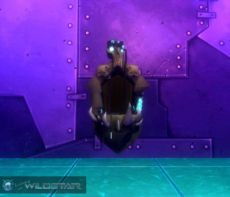 Wildstar Housing - Earth-Render Alcove (Worn)