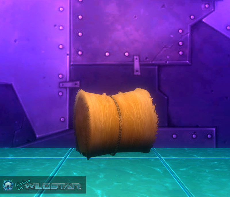 Wildstar Housing - Hay Bale (Wound)