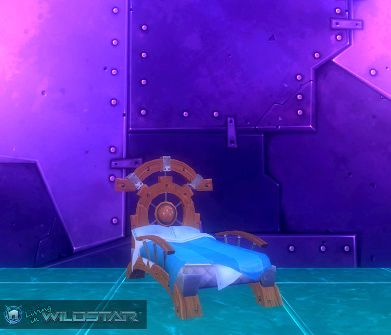 Wildstar Housing - Bed (Exile)