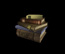 Wildstar Housing - Book Stack (Medium)