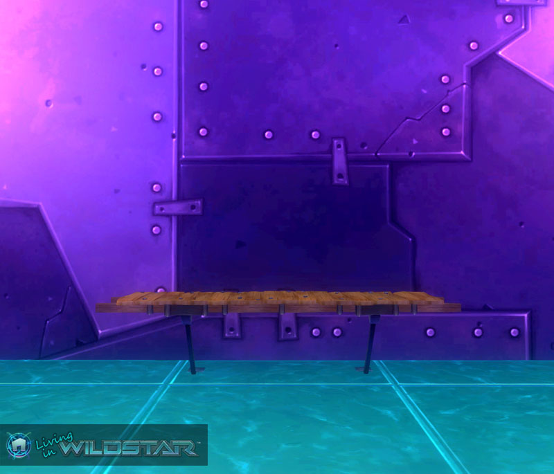 Wildstar Housing - Boardwalk (Straight)