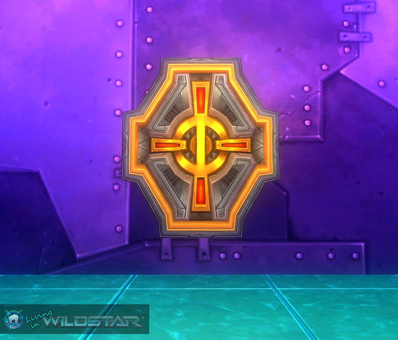 Wildstar Housing - Dominion Emblem (Octagonal)