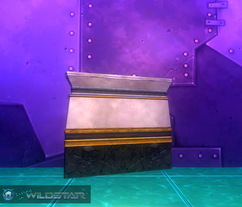 Wildstar Housing - Dominion Wall (Thin)