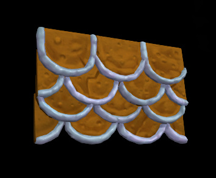 Wildstar Housing - Gingerbread Roof (Frosted)