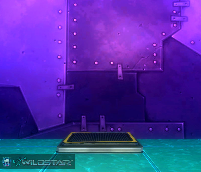 Wildstar Housing - Grated Floor Panel