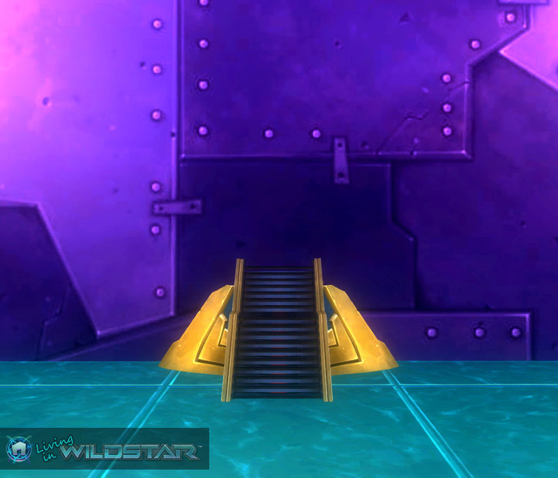 Wildstar Housing - Landing Pad Stairs (Dominion)
