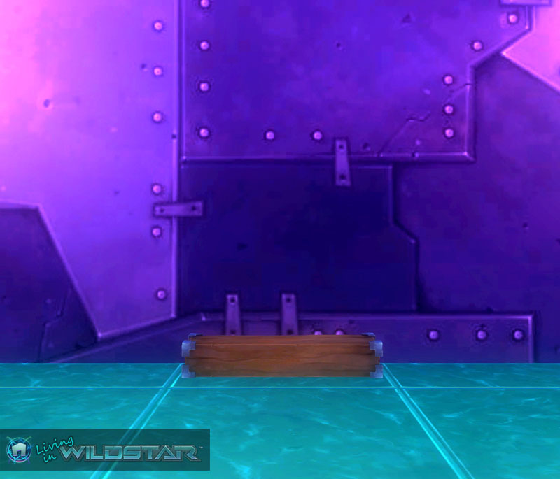 Wildstar Housing - Medium Metal Edged Rectangle Block
