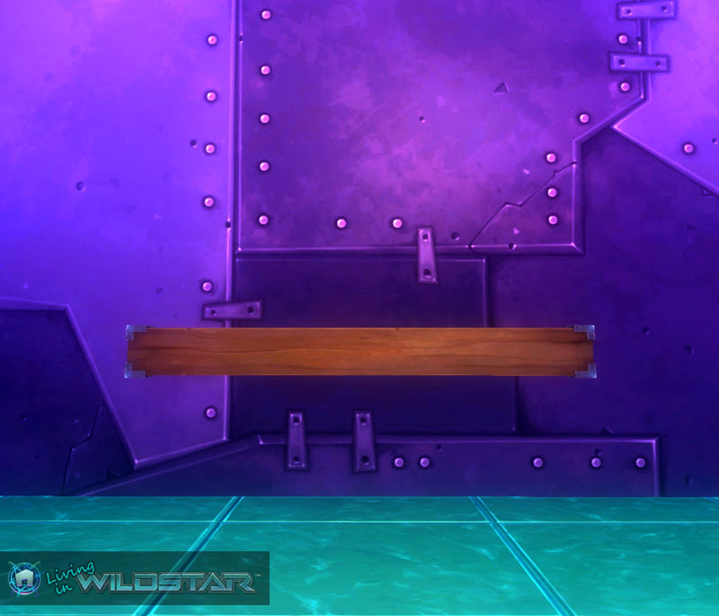 Wildstar Housing - Metal Edged 2x4