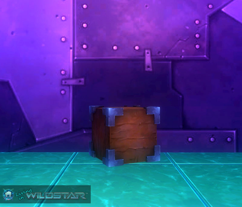 Wildstar Housing - Metal Edged Cube