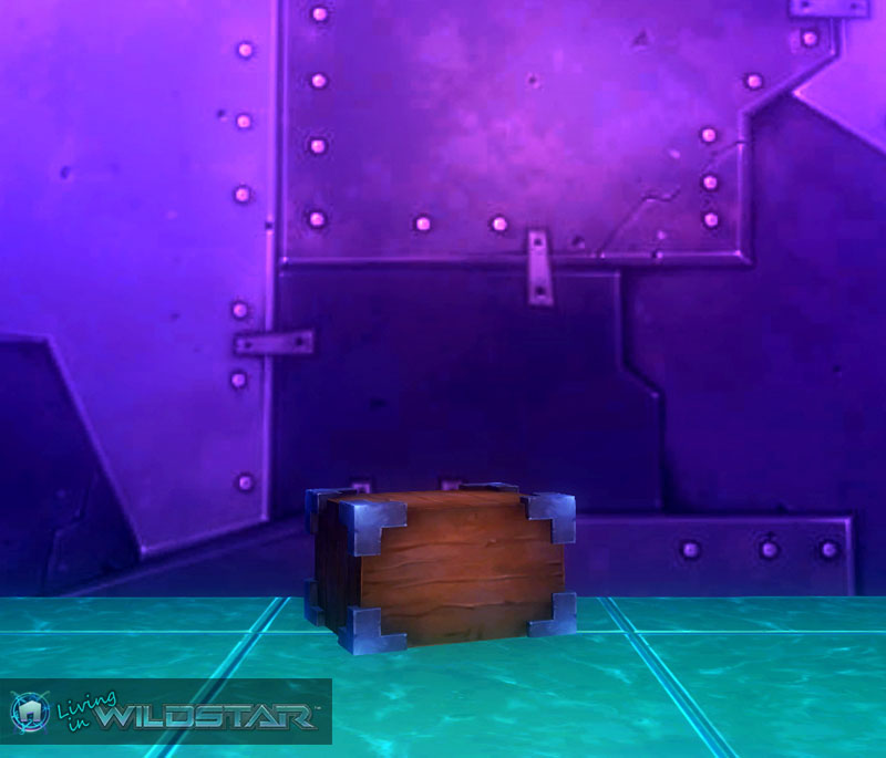 Wildstar Housing - Metal Edged Rectangle Block