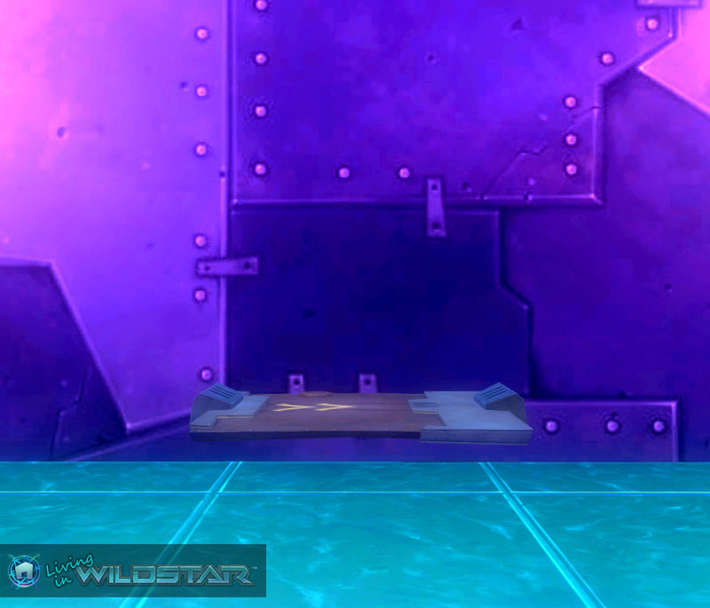 Wildstar Housing - Metal Platform