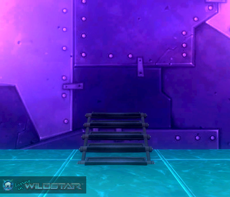 Wildstar Housing - Metal Stairs (Protostar)