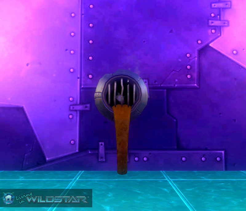 Wildstar Housing - Redmoon Sewage Pipe (Waste)