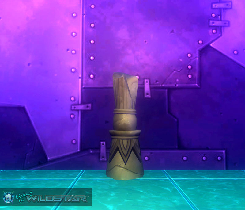 Wildstar Housing - Ruined Temple Pillar