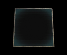 Wildstar Housing - Glass (Square) with Burnished Metal