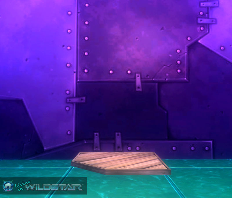 Wildstar Housing - Wooden Deck (Corner)