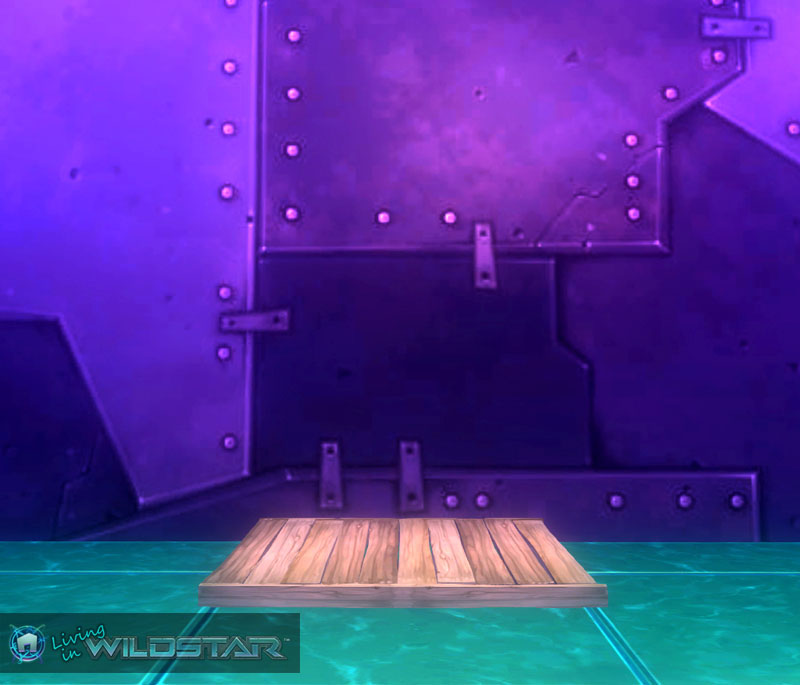 Wildstar Housing - Wooden Deck (Short)