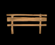Wildstar Housing - Wooden Railing (Short)