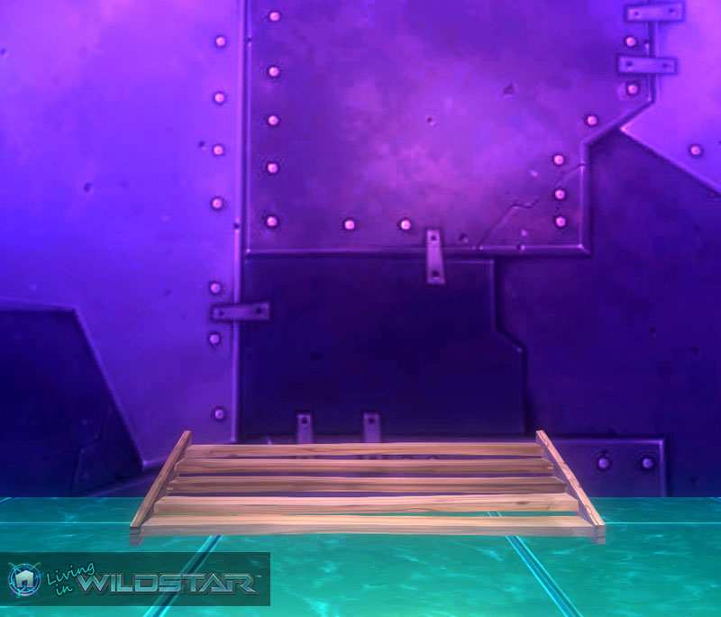 Wildstar Housing - Wooden Stairs (Short)