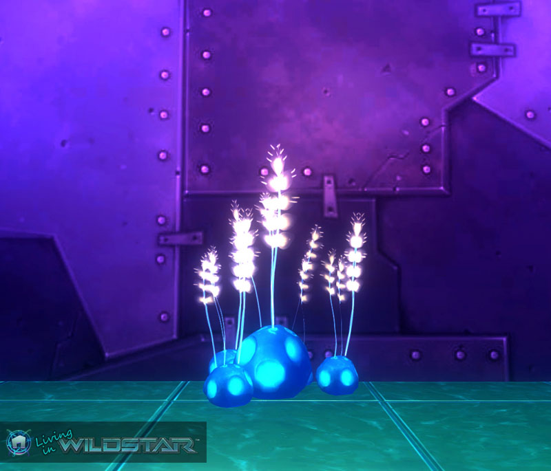 Wildstar Housing - Alien Glowplants
