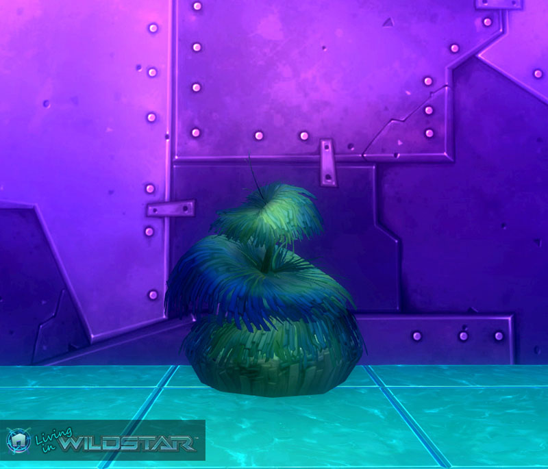 Wildstar Housing - Dark Mossbush
