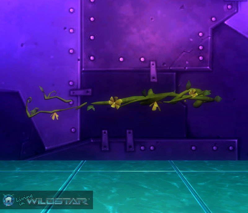 Wildstar Housing - Flowering Vine (Uneven)