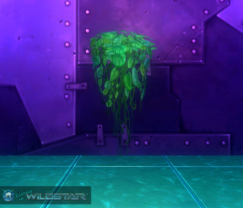 Wildstar Housing - Leafy Overgrowth (Short)