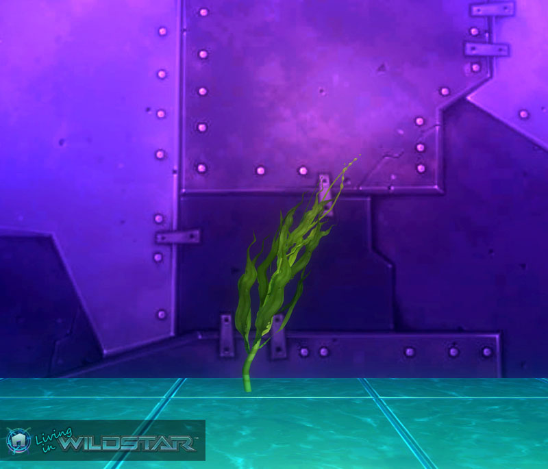 Wildstar Housing - Seaweed (Tall)