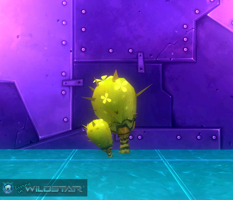 Wildstar Housing - Cactus (Spiky)