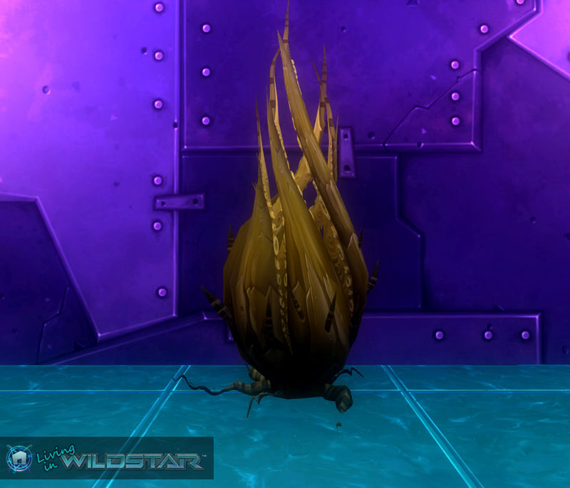 Wildstar Housing - Octo-Bush (Twitching)