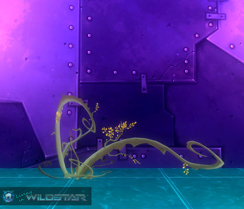 Wildstar Housing - Vind Thorn Bush (Long)