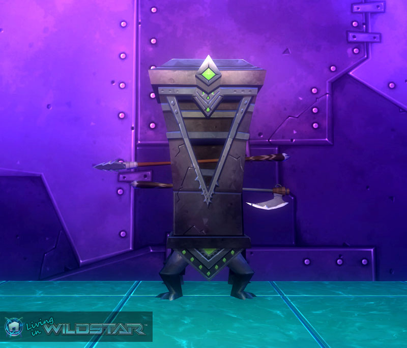 Wildstar Housing - Wardrobe (Draken)