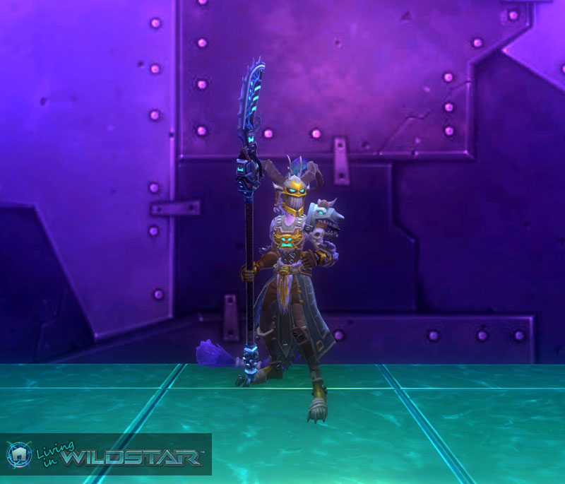 Wildstar Housing - Aurin Dungeon Crawler (Female)