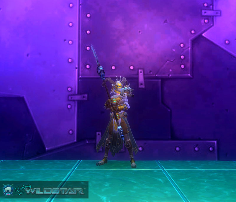 Wildstar Housing - Cassian Dungeon Crawler (Female)