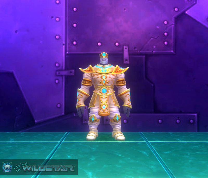 Wildstar Housing - Celestial Royal (Granok Male)