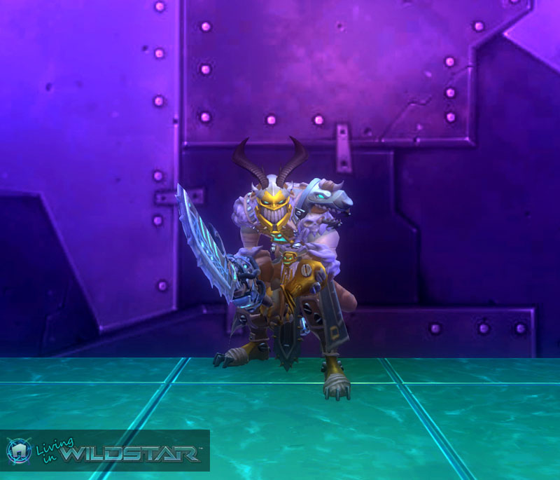 Wildstar Housing - Draken Dungeon Crawler (Male)