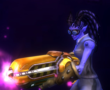 Wildstar Housing - Draken Welder (Female, Style 1)