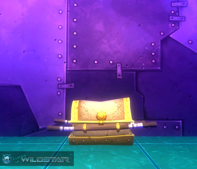 Wildstar Housing - Chest (Gold)