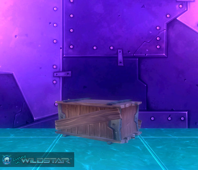 Wildstar Housing - Shabby Wooden Crate