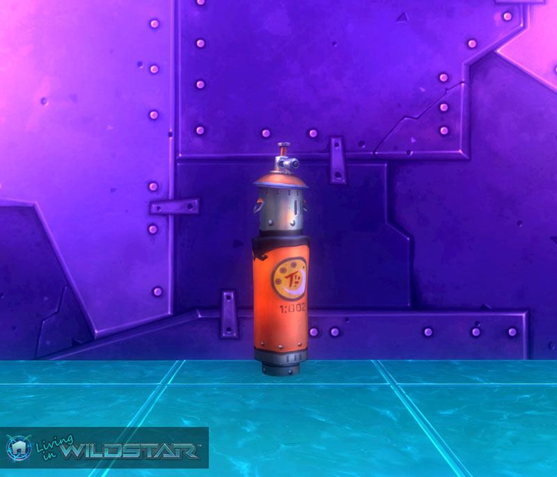 Wildstar Housing - Vind Gas Tank